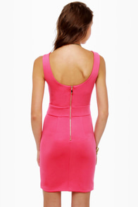 Be Cool Sleeveless Color Block Dress at Lulus.com!