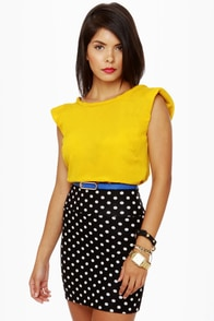 Black Sheep Dawn Yellow Top