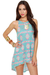 Tails of the West Southwest Print Tunic Top at Lulus.com!