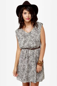 United Dalmatians Animal Print Dress at Lulus.com!