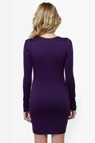 Foreign Film Purple Dress at Lulus.com!