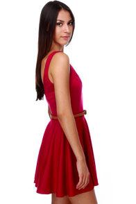 Jitterbug Red Dress