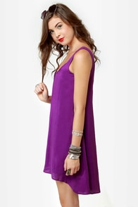 The Real Deal Purple Dress at Lulus.com!