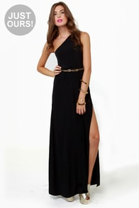 Temptress Black Maxi Dress
