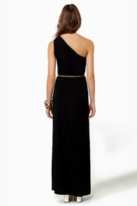 LULUS Exclusive Temptress Black Maxi Dress at Lulus.com!