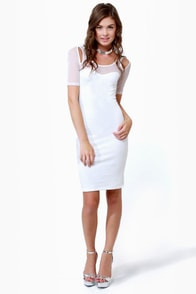 Net-asha Romanoff Ivory Dress at Lulus.com!