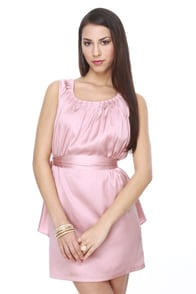 Raspberry Mousse Blush Pink Dress