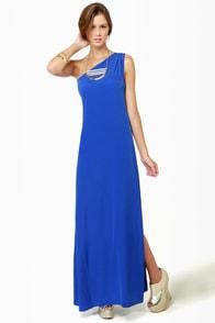 Temptress Blue Maxi Dress