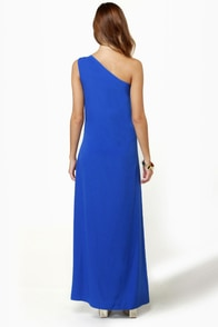 Temptress Blue Maxi Dress at Lulus.com!