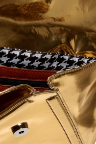 Black Hills Yellow Gold Clutch at Lulus.com!