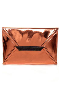 Black Hills Rose Gold Clutch