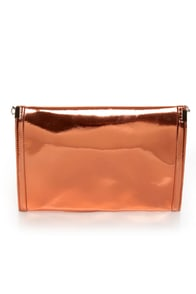 Black Hills Rose Gold Clutch at Lulus.com!