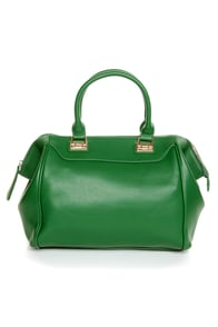 Roomy Mate Oversized Green Handbag