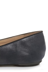 Bamboo Alive 04 Navy Blue Penny Loafers at Lulus.com!