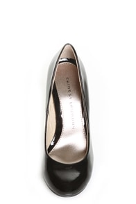 Chinese Laundry New Love Black Patent Pumps