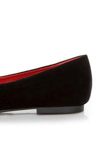Promise Emporium Black & Silver Cap-Toe Ballet Flats at Lulus.com!