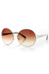 Twig Round Sunglasses at Lulus.com!