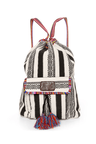 Billabong Caravan Tribal Striped Backpack at Lulus.com!