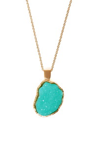 Crystal Garden Mint Necklace at Lulus.com!