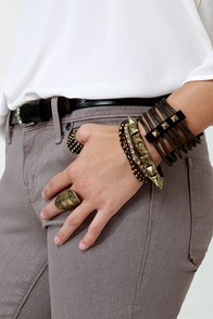 Wardrobe Warrior Studded Cuff
