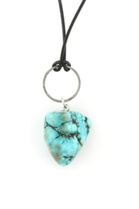 Core Sample Turquoise Necklace