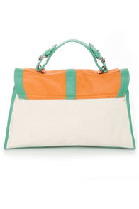 Carrot Cake Color Block Purse at Lulus.com!