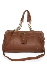 Hurley Arlington Brown Vegan Leather Purse