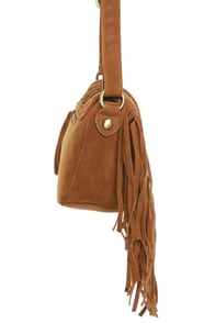 Lost River Ranch Fringe Brown Purse