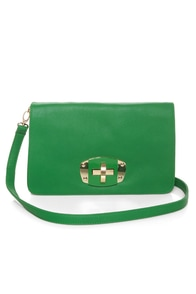Main Squeeze Green Purse