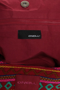 O'Neill Sancho Woven Red Hobo Bag at Lulus.com!