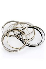 Metals of Honor Bangle Set