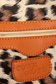 Bring Me Along Studded Orange Tote at Lulus.com!