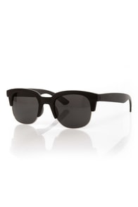 Book Smarts Black and Silver Sunglasses at Lulus.com!