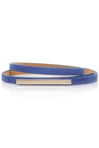 Skinny Mini Blue Belt