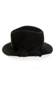 San Diego Hat Co. Idlewild Black Fedora at Lulus.com!