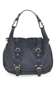 Right On Point Navy Blue Purse