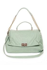 Peaseblossom Mint Handbag