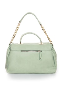 Peaseblossom Mint Handbag