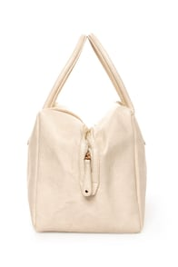 The Bowl-ed and the Beautiful Ivory Handbag at Lulus.com!