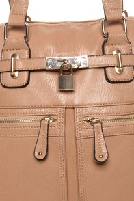 Turnkey Beige Handbag at Lulus.com!