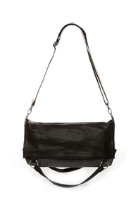 Volcom Dream Tunnel Black Handbag