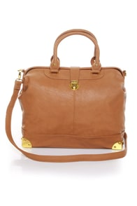What\\\'s Up, Doc? Brown Handbag