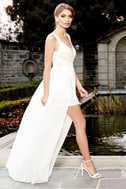 Make Way for Wonderful Off White Lace Maxi Dress 2