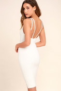 Gracefully Yours White Dress 3