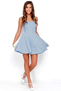 Home Before Daylight Periwinkle Dress 2