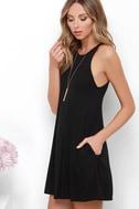 Tupelo Honey Black Dress 3