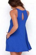 Tupelo Honey Royal Blue Dress 3