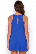 Tupelo Honey Royal Blue Dress 4
