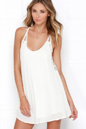 Spirited Ivory Lace Dress 3