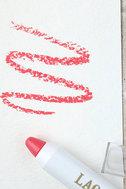 LAQA & Co. Jammy Bastard Coral Pink Fat Lip Pencil 1